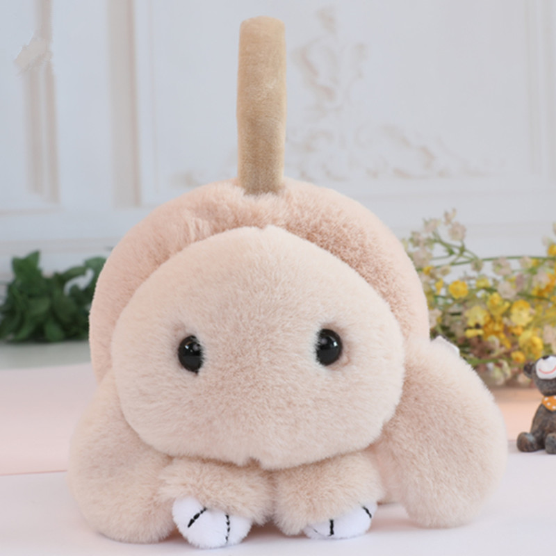 Adjustable Cartoon Rabbit Winter Ear Warm Earmuffs Children Plush Fur Ear Muff Ear Cover Cute Headband Gift For Girl Boy AD0686