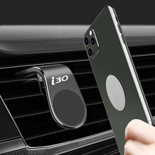 Metal Magnetic Car Phone Holder for Hyundai i30 Air Vent Clip Mount Magnet Mobile Stand GPS Display car Styling Accessories