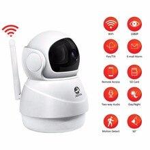 Jooanワイヤレスipカメラ2MP wifiセキュリティホームネットワークビデオ監視ミニペットカメラ屋内ベビーモニター1080