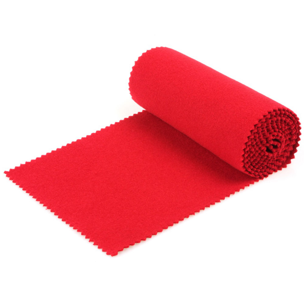 Piano Dustproof Cloth Piano Keyboard Cover Cotton Macio Piano Durable Red Velvet 135cm Band Maintain Tool Play Clean Stage