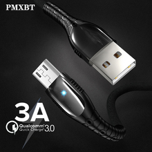 Micro USB Cable 3A Fast Charging Charger usb For Samsung Xiaomi Huawei Oppo Android Mobile Phone Data Cables