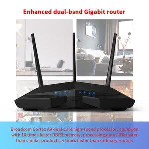Image 4 - GLVISION GLC18 Router Wifi Senza Fili, AC1900Mbps WIFI Ripetitore Dual Band 2.4GHz/5GHz Con USB3.0 802.11ac A Distanza di Controllo APP