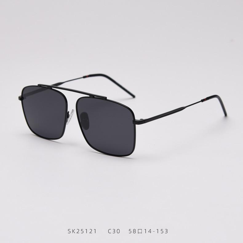 Metal Estilo Piloto Óculos Polarizados Condução Homens