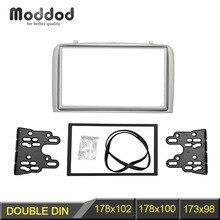 Double Din Facia for Alfa Romeo 147 Radio DVD Stereo CD Panel Dash Mounting Installation Trim Fascia Kit Face Frame Bezel