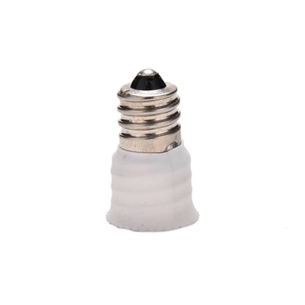 1Pcs E12 To E14 Lamp Holder Converter Bulb Lamp Holder Adapter Socket Converter Light Base Candelabra Lamp Holder Converter