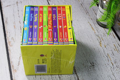 10 livros conjunto usborne muito primeiro palavras