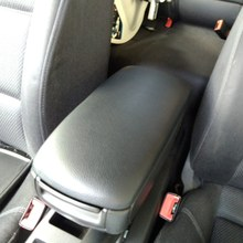 1 Pcs Auto Armsteun Cover Center Console Arm Rest Opslag Deksel Cover Voor A4 B6 B7 2001-2008 auto Accessoires(China)