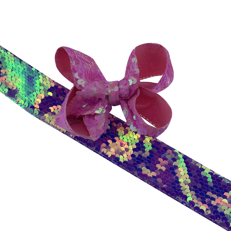 """38mm 1.5/"""" 1 METRE  1/"""" 25mm wide  SPARKLE GLITTER RIBBON CHRISTMAS HAIR BOWS"""
