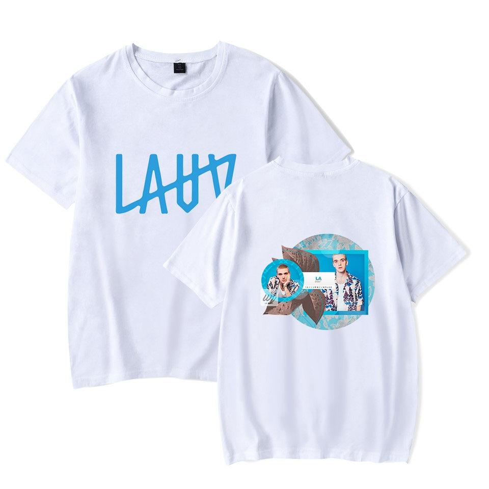 LAUV 2D New Style Printed T-Shirt Harajuku Fashion Comfort Male Tee Top Streetwear T Shirts Fashion