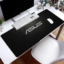 ASUS – grand tapis de souris de jeu avec bord cousu, résistant à l'eau, antidérapant, Base en caoutchouc, pour ordinateur de bureau et portable