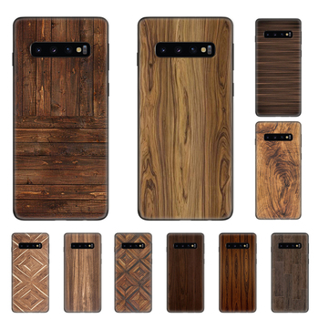 Case Cover for Samsung Galaxy S20 Ultra S10e S10 S9 S8 Note 8 9 10 Plus 5G S7 Phone Soft Shockproof  Shell Pattern Wood Textures luxury defender shockproof protection phone case for samsung galaxy s10 plus s10 5g s9 s8 s7 note 10 pro 9 8 hybrid armor cover