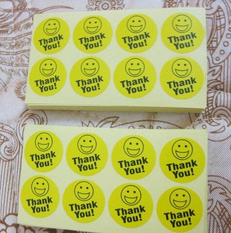 smiley rosto adesivo de papel auto-adesivo artigo não gu17