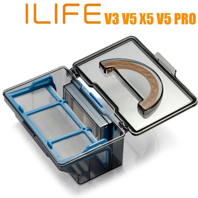 Practical Robotic Vacuum Cleaner Dust Collector Box For ILIFE V3 V5 X5 V5 PRO