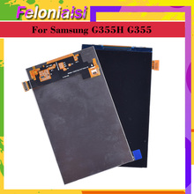 10pcs/lot Original For Samsung Galaxy Core 2 SM-G355H G355H G355 LCD Display Screen SM G355 Display Screen Replacement SM-G355HN чехол для для мобильных телефонов oem 1 bling samsung core 2 g355h for samsung galaxy core 2 g355h
