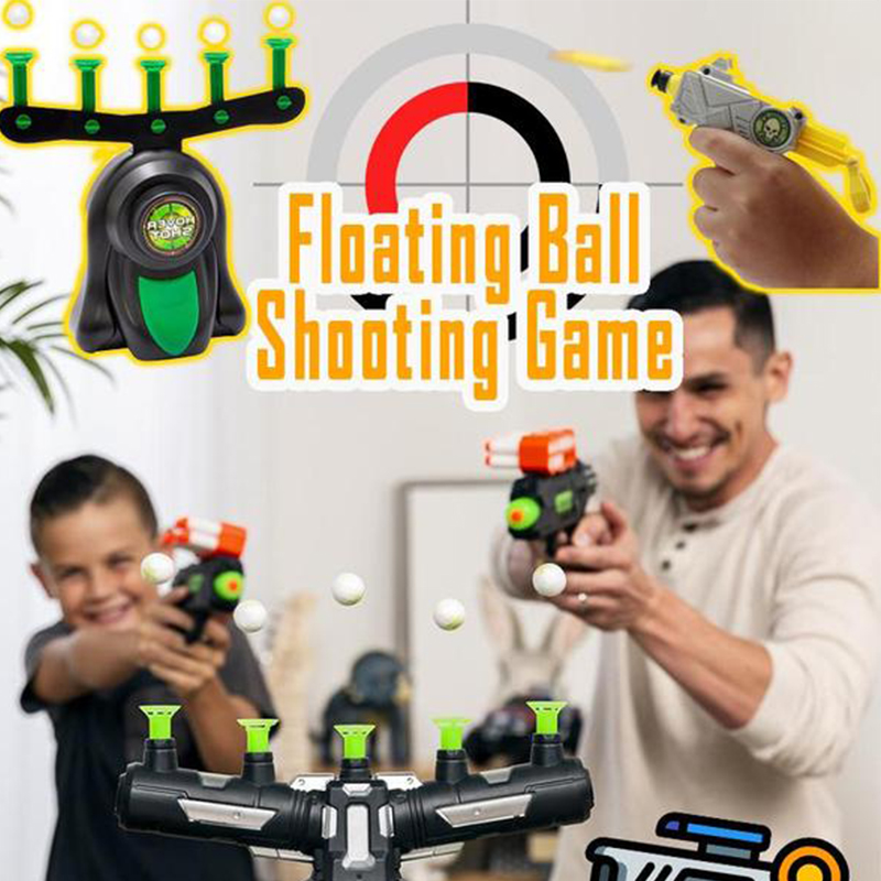 Floating Ball Shooting Game Gun Shot Toy Electric Suspension…