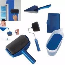 5 шт. профессиональный декоративный малярный ролик Edger для офисной комнаты, настенная живопись, дизайн, Малярный бегунок, профессиональная роликовая щетка, ручка, наборы инструментов