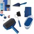 5pcs professionele decoratieve verf roller Edger Kantoor Kamer muur schilderen ontwerp verf runner pro roller borstel handvat tool Sets