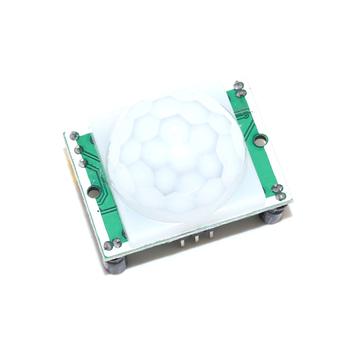 HC-SR501 HC-SR505 SR602 AM312 regulacja IR piroelektryczny czujnik ruchu PIR na podczerwień moduł detektora uchwyt do arduino tanie i dobre opinie NoEnName_Null CN (pochodzenie) Czujnik ray Czujnik optyczny-Elektronika Infrared sensor