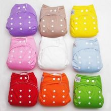 1PC Adjustable Reusable Baby Kids Boy Girl Washable Cloth Comfortable Diaper Nappies Baby Diaper Cover Wholesale