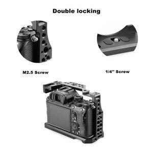 Image 5 - MAGICRIG jaula para cámara con zapata fría estándar y orificios de localización para cámara Sony A7RIII /A7III /A7M3 /A7SII /A7RII /A7II