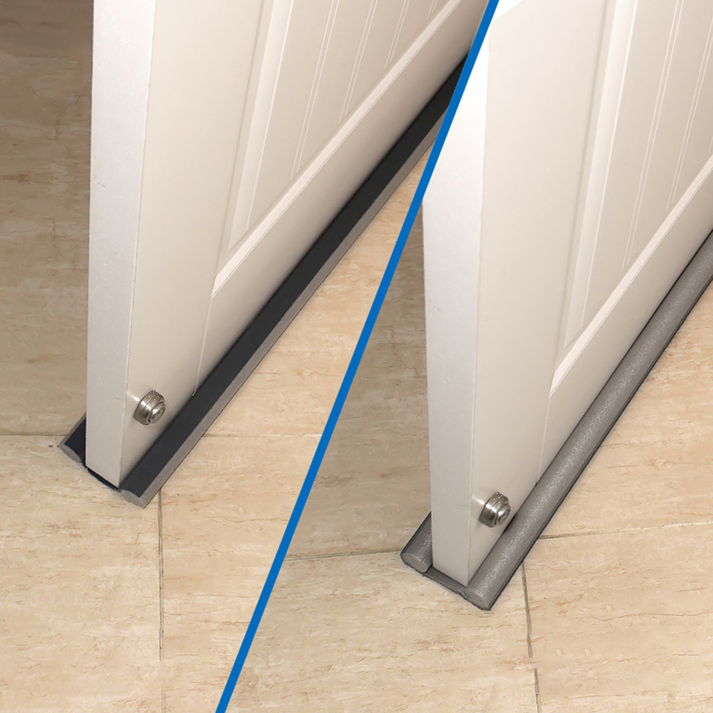 Silicone strip glass door and window seal Easy Installation Of Door Bottom Sealing Strip And Sound Insulation Strip dustproof