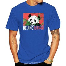 2020 2020 Hot Sale Men Fashion Beijing, China 'Bamboo Panda' T-Shirt Asia Travel Explore Vacation Tour Summer O-Neck Tops