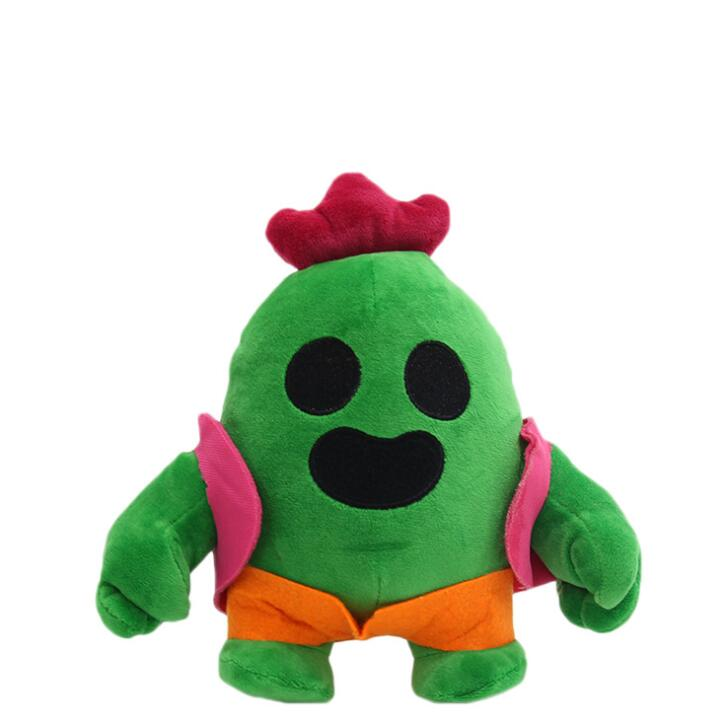 Kawaii 20cm Anime Game Spike Model Doll Plush Stuffed Toy Cactus Soft Stuffed Toys For Children Kids Christmas Gift