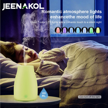 Aromatherapy Humidifier LED Aromatherapy Lamp Aromatherapy Machine Non-printing Humidifier 100ML Sake Bottle Explosion AliExpres