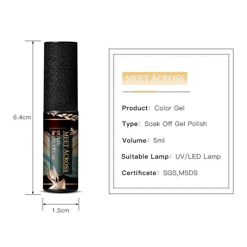 Voldoen Over Uv Gel Nagellak Set 5 Ml Pure Nail Kleur Soak Off Nail Art Gel Vernis Semi Permanente manicure Nail Lak Kit