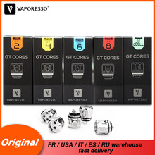 3pcs/lot Original Vaporesso Atomizer core Coil GT2 GT4 GT6 GT82 GT Meshed for SKRR NRG Tank Gen Polar Swag LUXE Revenger Kit стоимость