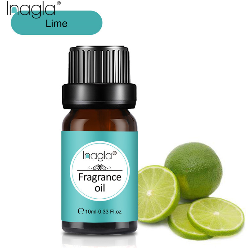 Inagla Lime 100% Natural Aromatherapy Fragrance Essential Oil For Aromatherapy Diffusers Massage 10ML Relieve Stress Air Fresh