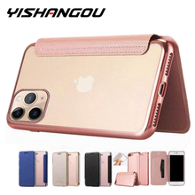 Luxury Wallet Flip Book PU Leather Phone Case For i