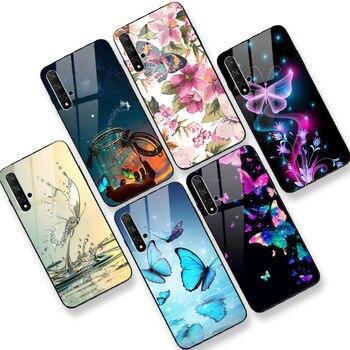 Para Huawei Nova 3i 3e Honor 9 10 Lite 10i 9i 9X 8A 8C 8S 8X 20 Pro Lite 20i 20S 20 caso desaparecer brillante PC + funda trasera de TPU