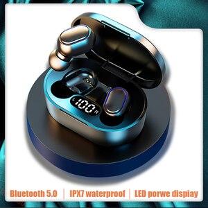 Беспроводные наушники Bluetooth 5,0 наушники 9D стерео наушники спортивные водонепроницаемые IPX7 гарнитура с микрофоном для телефонов