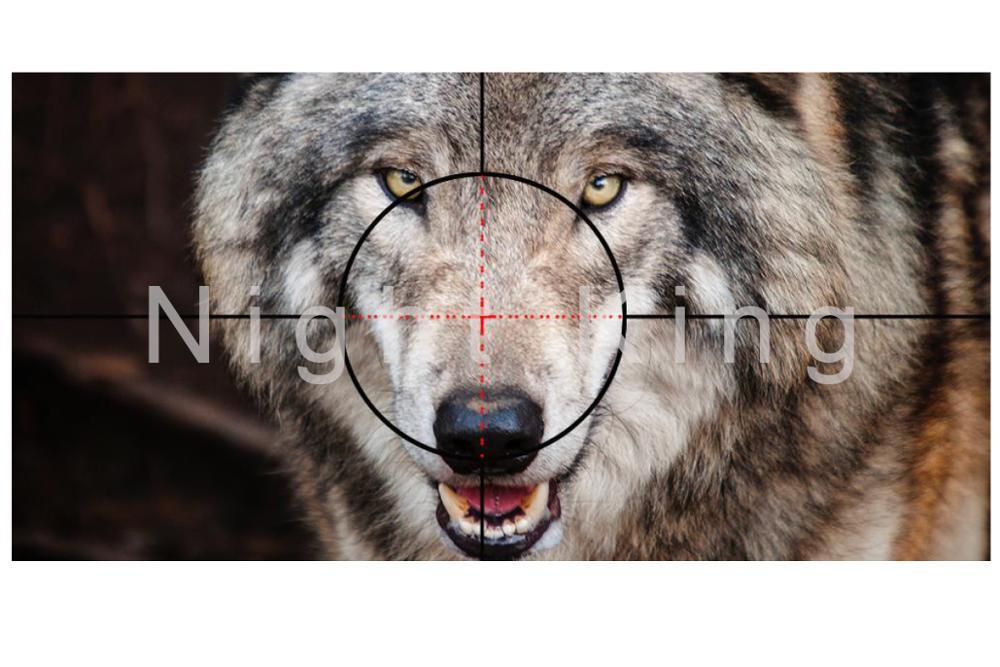 caça óptica visão tactical riflescope visão noturna