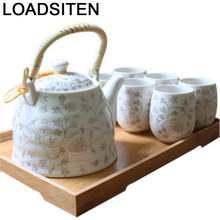Дорожный чайный набор gongfu mutfak aksesuarlari kuchnia винтажный