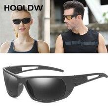 HOOLDW Vintage Polarized Sunglasses Men Women Brand Design Sun glasses Outdoor