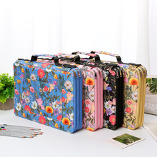 288 Slots Pencil School Case for Girls Stationery Organizer Box Large Capacity Pencilcase Office Three Zipper Pen Bag Supplies