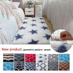 13 tailles moelleux chambre Rectangle tapis Super doux couverture anti-dérapant petits tapis pour salon porte maison tapis décoratif nouveau