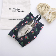 New travel shoe storage bag foldable waterproof shoe bag large capacity portable shoe bag