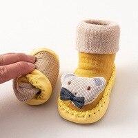 2020 Fashion Baby Socks With Rubber Soles Infant Sock Newborn Autumn Winter Children Floor Socks Shoes Anti Slip Soft Sole Sock