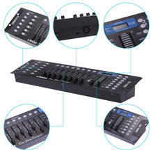 Lixada 192 Channels DMX512 Controller Console for Stage Light Party DJ Disco Operator Equipment(China)