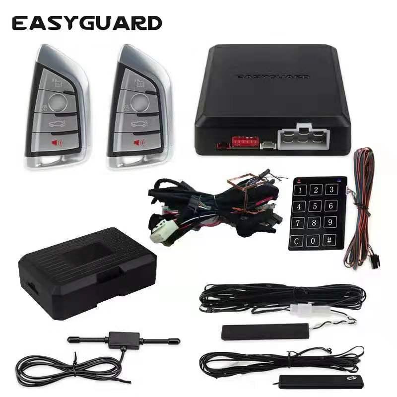 Easyguard can bus plug  amp  play fit BMW F26E83F25E60E61 f10 F11F18F07F01F02F03F04 autostart PKE car alarm