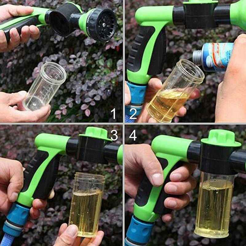 GTBL портативный автоматический пенопластовый водяной инструмент высокого давления 3 класса Форсунка автомобильный распылитель для омывателя инструмент для очистки автомобилей инструмент для мытья