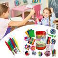 Ремесла Мега трубка для чистки труб ручной работы игрушка «сделай сам» ремесла материал для детского творчества рукоделие Детские игрушки