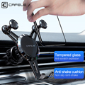 CAFELE Phone Holder for Air Vent Mount Universal Holder Stand for Mobile Phone in Car Support For iPhone 11 Pro Max 4-7 inches