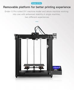 Image 3 - Creality Ender 5/Ender 5 פרו 3D מדפסת DIY ערכת 220*220*300mm לבנות נפח עם שדרוג שקט האם PTFE צינורות Extruder
