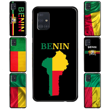 Benin Flag Case For Samsung Galaxy S20 Plus S7 S8 S9 S10 Lite S10e Note 20 Ultra Note 9 8 10 Plus image