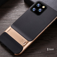 For iPhone 11 Pro Case Cover Luxury Mesh Pattern Soft Silicon Stand Fundas Coque for Max 2019 New