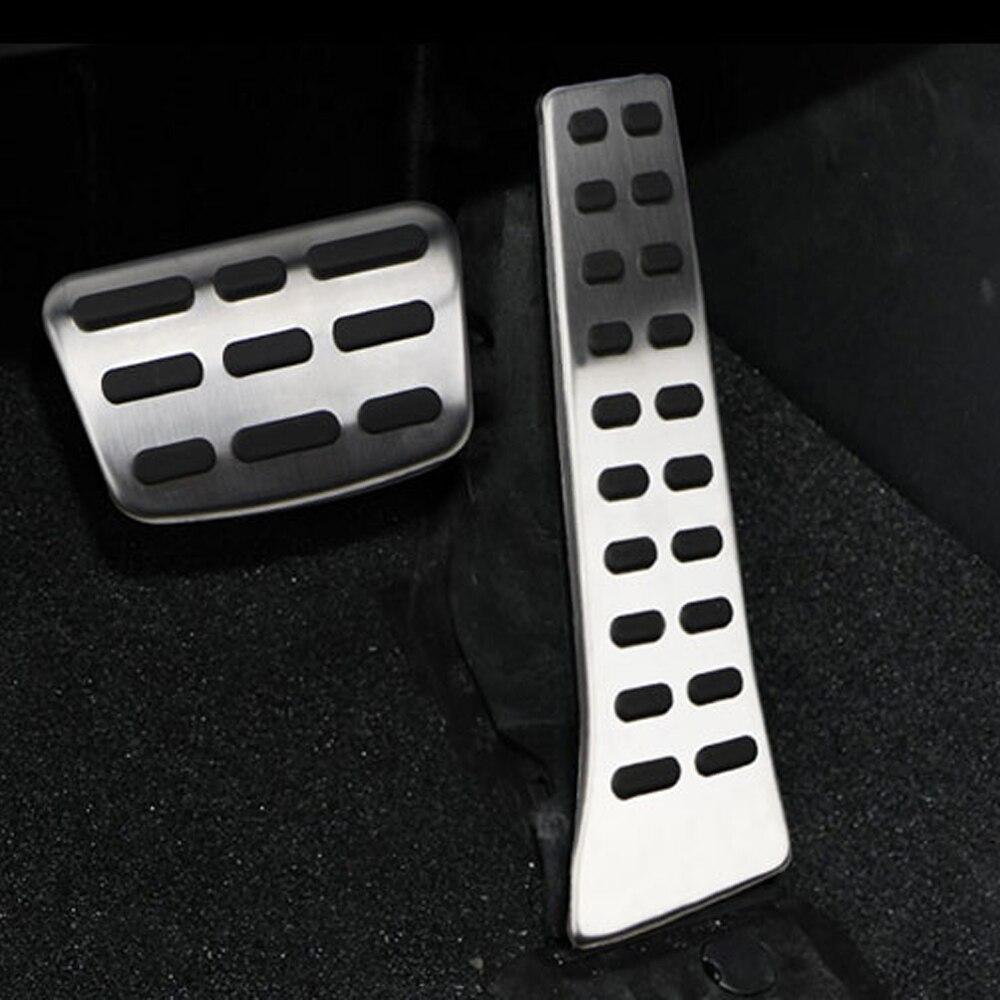 DAEFAR Car Pedal Pad Cover for Kia Sorento KX5 K5 Optima Sportage QL for Hyundai Sonata I40 Tucson Santa Fe IX35 Ceed MT AT